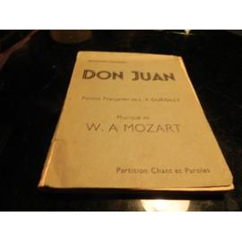 DON JUAN /PAROLES DE L.V.DURDILLY.MUSIQUE DE W/A/MOZART