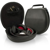 igadgitz Noir EVA �tui Housse Rigide de Rangement pour Casque Headphones Headset (Sony, Philips, Pioneer, Senheisser, Marshall, Shure, Beats, Bose, et
