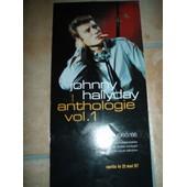 Flyer De Johnny Hallyday Anthologie Vol.1 Du 21/05/1997