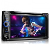 Autoradio 2din Bluetooth Xm-2dtsb6219bt / Bluebooth + 2din + Cd/Dvd + Subwoofer + Usb