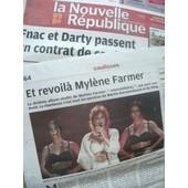 Centre Presse/Nouvelle R�publique : Mylene Farmer