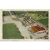 Etats-Unis Usa Alabama Birmingham�S Million Dollar Airport Carte Postale A�roport Avion Aviation Postcard