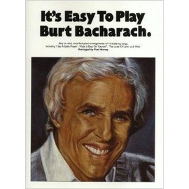 It's Easy To Play Burt Bacharach Piano,  Vocal & Guitar (with Chord Boxes)