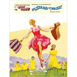 The Sound Of Music E-Z Play Today 76 Melody line & lyrics, with chord symbols