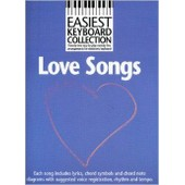 Easiest Keyboard Collection : Love Songs Clavier