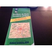 Carte Michelin Banlieue De Paris de MICHELIN