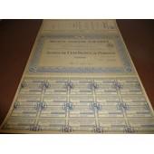 Societe Anonyme A.Harel Action De 100 Francs Alger 1932