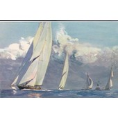 3 Cartes Postales Albert Sebille (Comite National De L'enfance, Bateaux)