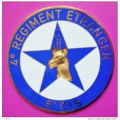 M�daille Uniface (70mm) : L�gion Etrangere : 4� Regiment Etranger / 5� Compagnie Instruction Des Sp�cialistes (C.I.S.)