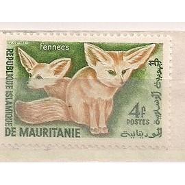 Mauritanie- 1 timbre neuf-Fennecs- N°144