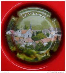 Capsule De Champagne Passy-Grigny, S�rie Les Lieux-Dits, N�4 : Le Village