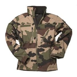 Veste / Blouson Softshell Scu 14 Camouflage Centre Europe Miltec