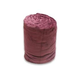 Couverture Extra Douce 220x240 Cm Calin Saphir En Microfibre
