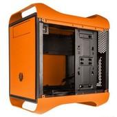 Bo�tier PC BitFenix Prodigy M (orange) Micro-ATX