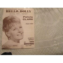 "petula clark ""Hello Dolly"" (marron)"