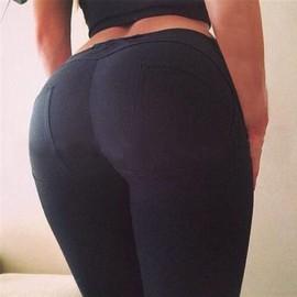 La Femme Est Sexy Taille Haute, Fuseau Crayon Pantalon Slim Maigre Jambi��Res