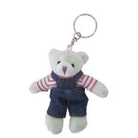Porte Clef Ours Peluche 10 Cm
