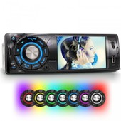 Autoradio 1din Bluetooth Xm-Vrsu313bt / 7-Colors + Bluetooth + Usb + Microsd + Video + Avi + Aux-In + Rear Camera In + 128gb Support +...