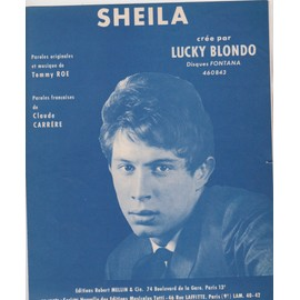"lucky blondo ""sheila"""