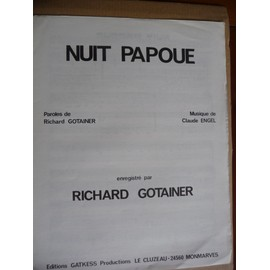 Nuit Papoue Richard Gotainer
