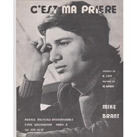 """mike brant """"C'est ma prière"""""""
