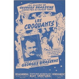 """brassens """"les croquants"""""""
