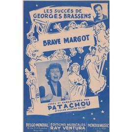 """brassens patachou """"brave margot"""""""