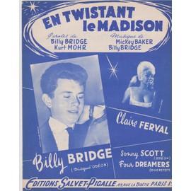 "billy bridge ""en twistant le madison"""