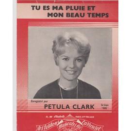 """petula clark """"tu es ma pluie et mon beau temps"""""""