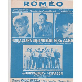 "petula clark, moreno, zarai ""Romeo"""