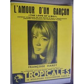 L'AMOUR D'UN GARCON Françoise Hardy