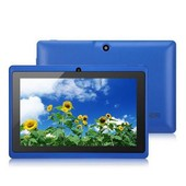 Tablette tactile 7 pouces HD Quad Core Android 8 Go Double cam�ra WIFI Play Store (bleu)