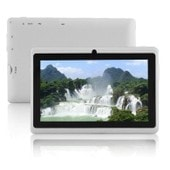 Tablette tactile 7 pouces HD Quad Core Android 8 Go Double cam�ra WIFI Play Store (blanc)