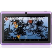 Tablette tactile 7 pouces HD Quad Core Android 8 Go Double cam�ra WIFI Play Store (violet)