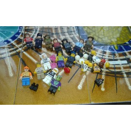 Lot Personnages Lego