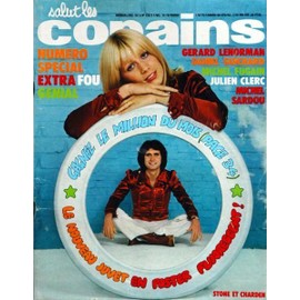 Salut Les Copains 136 Rolling Stones France Gall Eddy Mitchell Dick Rivers Serge Koolen Fugain
