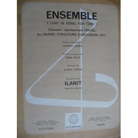ENSEMBLE (love is song for two) Ilanit