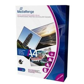 Mediarange Mrink106 - Papier Photo A4 - 120g/M� - Mat - Pack De 100 Feuilles - Pour Imprimante Laser
