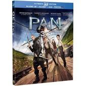 Pan - Combo Blu-Ray 3d + Blu-Ray 2d de Joe Wright