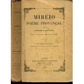 Mireio Poeme Provencal / Nouvelle Edition de MISTRAL FREDERIC