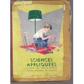 Sciences Appliqu�es Classe De Fin D'�tudes- �coles Urbaines De Gar�ons de Marcel Orieux