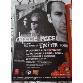 poster a4 depeche mode