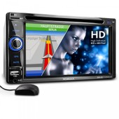 Autoradio 2din Gps Navigation Bluetooth Xm-2dtsbn6220bt / Bluetooth + 2din + Cd/Dvd + Subwoofer + Usb + Navigationssystem + Gps + 16cm (6,2