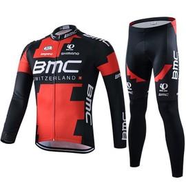 Bmc Maillot De Cyclisme Manches Longues + Cuissard V�lo 2016