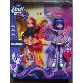 Poup�e My Little Pony Equestria Girls : Pack Double Sunset Shimmer & Twilight Sparkle