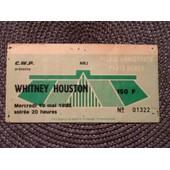 Billet Concert Whitney Houston 1988