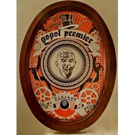 GOGOL PREMIER KABARET PUNK affiche signée