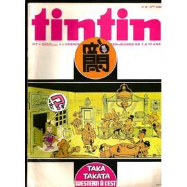 Tintin Edition Belge - 32�me Ann�e N� 36