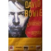 David Bowie - Affiche G�ante ''outside Tour'' 1995
