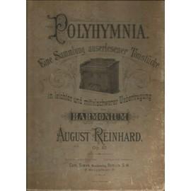 Polyhymnia für das Harmonium August Reinhard Op 40